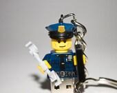 128GB Policeman USB Flash Drive with Key Chain