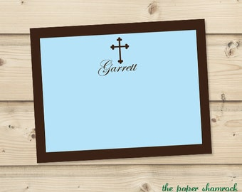 Baptism Thank you Cards, First Communion Thank you Card, Christening Thank you Card, Personalized Thank you Card