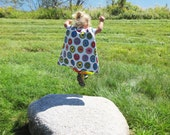 Colorful Chicken Cape for Children Ages 2-6
