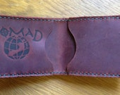 Leather Wallet, Brown Pul...