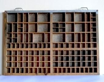vintage letterpress printers-drawer-tray - model C