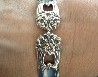 Eternally Yours 1942 - 1973 Silverware Bracelet