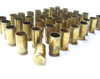 9mm Brass Bullet Casings Lot of 28