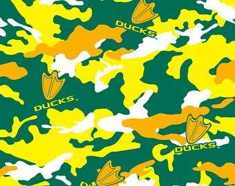 Oregon Duck Cotton Print - Camo