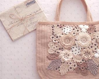 Irish Crochet Patterns, PDF Patterns, Crochet Rustic, Free Shipping No.40