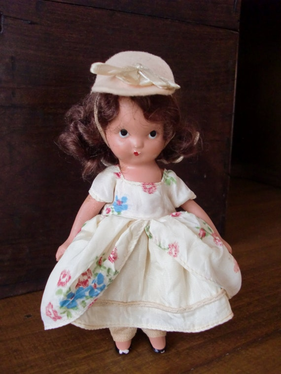 1940s painted bisque nancy ann storybook doll by chesterstrunk