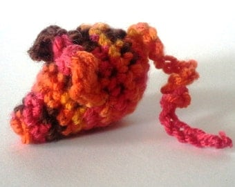Red hot Cat toy. crinkly or rattle, cat nip