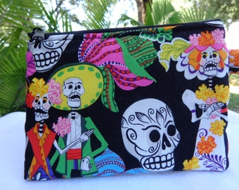 Makeup Bag: Day of the Dead