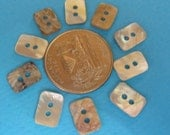 Rectangular Mother of Pearl buttons