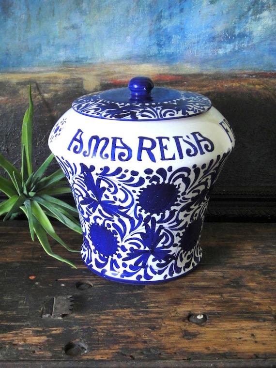 Vintage Amarena Fabbri Cherry Jar // Bologna Italy // Vintage