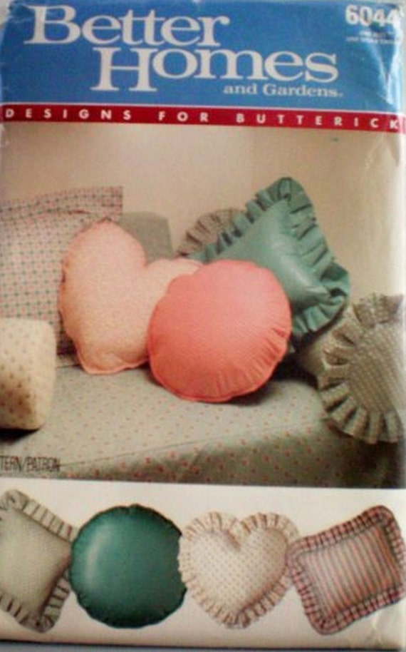Better homes and gardens butterick 6044 pillows by - Better homes and gardens pillows ...
