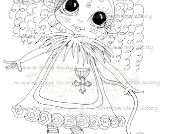 INSTANT DOWNLOAD Besties Of Oz Digital Digi Stamps Big Eyed IMG645 Big Head Dolls Digi By Sherri Baldy