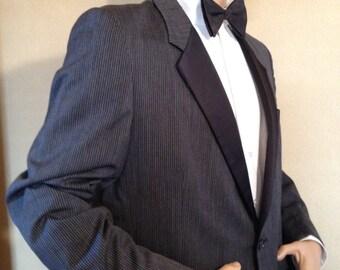 Vintage 80s  Raffinati Robert Wagner collection tuxedo jacket and pants