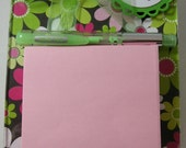 Post it note acrylic holder, Make a Note, postit