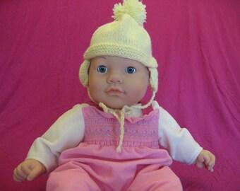 Sunny Yellow Baby Hat