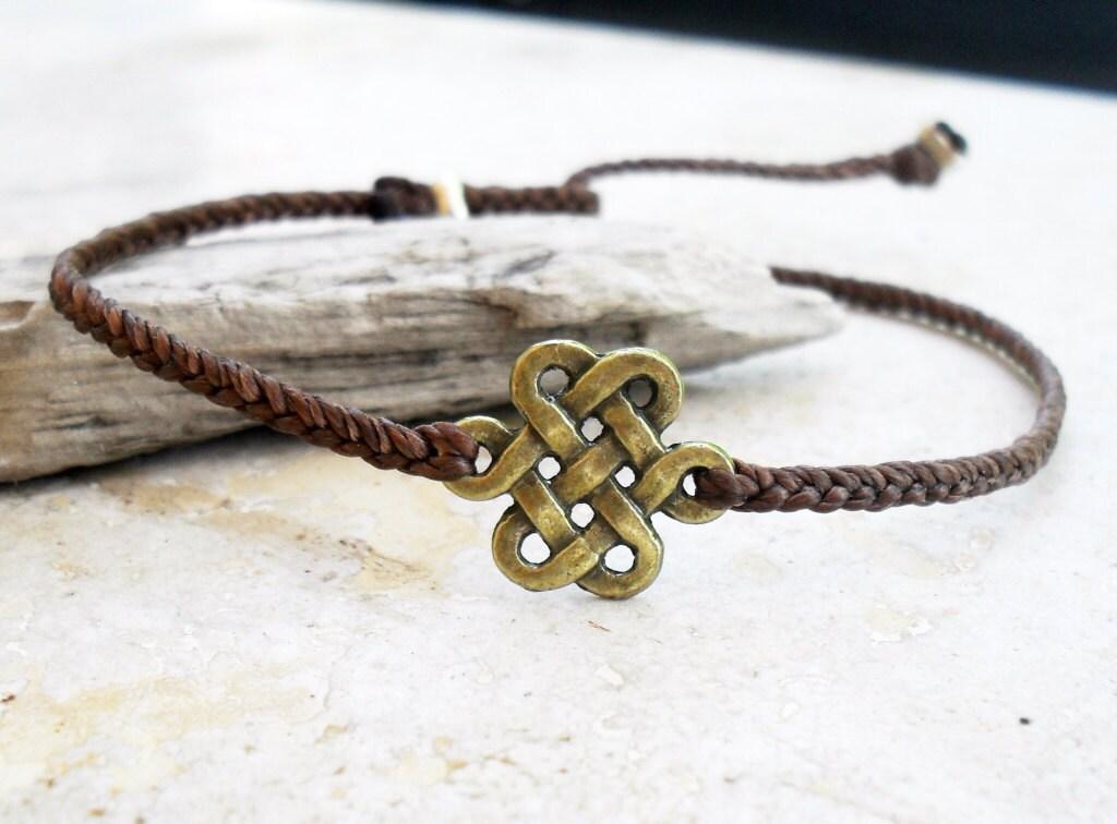 mens bracelet infinity knot mens bracelet celtic knot. Black Bedroom Furniture Sets. Home Design Ideas