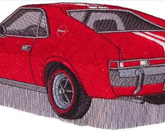 Custom Embroidered AMC AMX Denim Shirt S-4XL