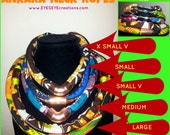 ANKARA NECK ROPES (Multiples / Sets) (Video link below)