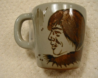vintage pottery Alaska mug . . . .  handcrafted in Alaska