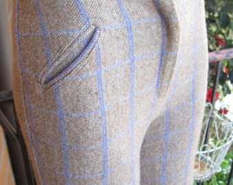 Target 1970s brown wool trousers - Sz XS, S