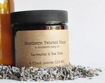 Tea Tree and Lavender Body Lotion - Essential Oil