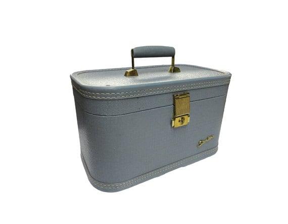 Vintage Train Luggage 78