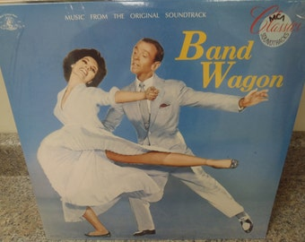 LP Record, Soundtrack Band Wagon MCA Classics New and Sealed vinyl album Fred Astaire