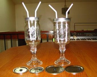 V3 2 in 1 paper bead roller simple by masonmealsmore on etsy - Stemmed mason jars ...