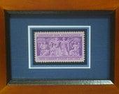 The American Bar Association - Vintage Framed Stamp - No. 1022