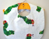 Very Hungry Caterpillar Baby Bib