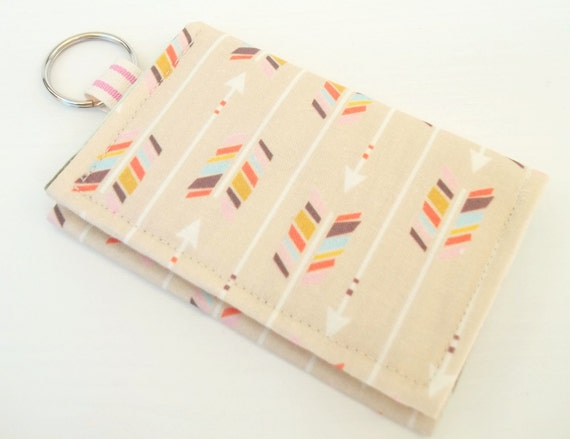 Business card holder velcro keychain wallet by platosquirrel for Keychain business cards
