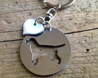 NEW Labrador Retriever Custom Keychain Dog Lover.  Personalized your dogs name