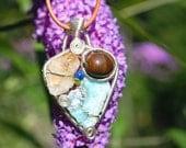 Larimar Abundance Amulet