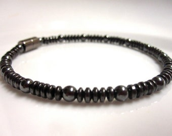 Magnetic Hematite Anklet - Magnetic Therapy Anklet