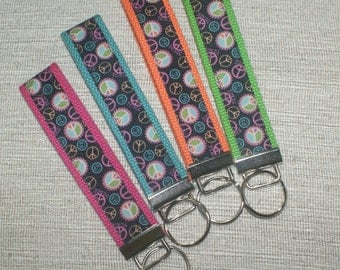Peace Signs Key Fob - Discontinued