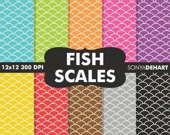 Fishscale Paper, Fish Scale Paper, Fishscale Pattern, Fish Scale Pattern, Fishscale Background, Fishscale Digital