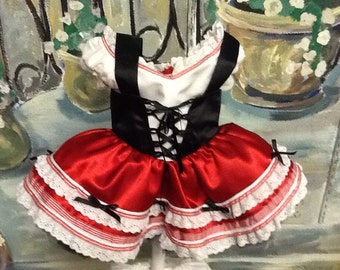 Little red riding hood costume sizes 8 to 12