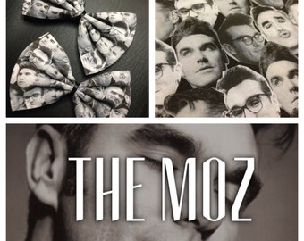 Morrissey- The Moz hair bow