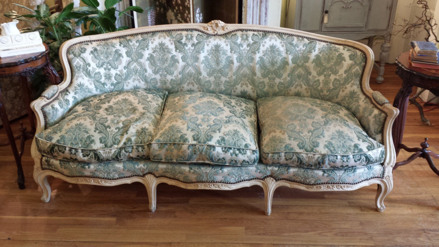 Antique French Provincial Sofa