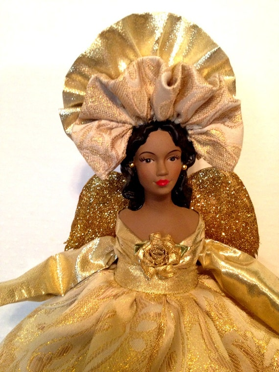 Angel Tree Topper African American Christmas By