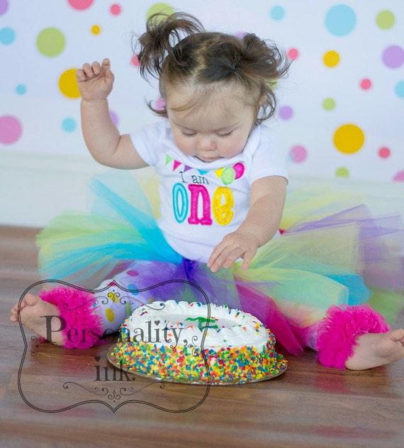Birthday Table Acnl: I Am ONE Candy Land Circus Tutu Birthday Pink Purple