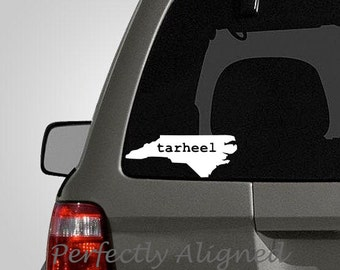 Home State North Carolina TARHEEL Vinyl Car Decal - Home State Vinyl Decal