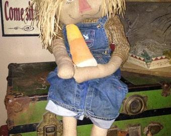 Primitive Fall Scarecrow