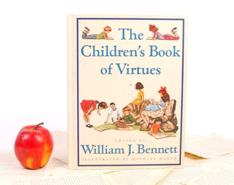 Book iPad Cover- Tablet Case- The Childrens Book of Virtues