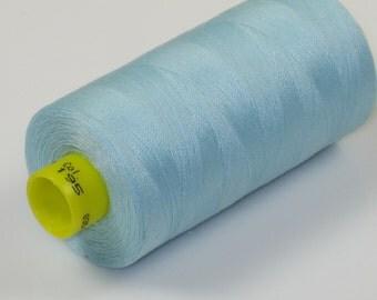 Sewing Thread, Baby Blue 195 Gutermann Superior Sewing Thread on 1094 Yard Spool