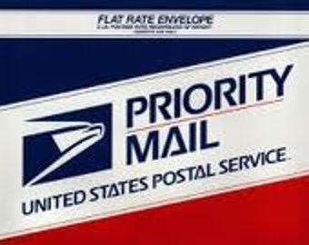 Priority mail/Fedex USPS contact us before selecting this option