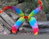 Tie Dye Fairy Wings for the Funky Fairy