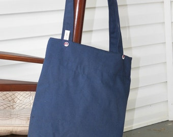 Medium Tote with Vintage Buttons