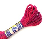 DMC 4210 Variegated 6 Strand Floss Radiant Ruby