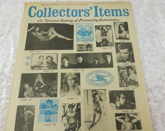 Vintage Collectors' Items Catalog Posters Photos Magazines Charlie's Angels Farrah Fawcett Lynda Mick Jagger David Cassidy Kiss Raquel Welc